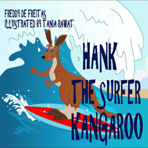 HANK THE SURFER KANGAROO